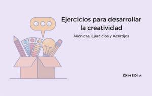 que es la creatividad ejercicios