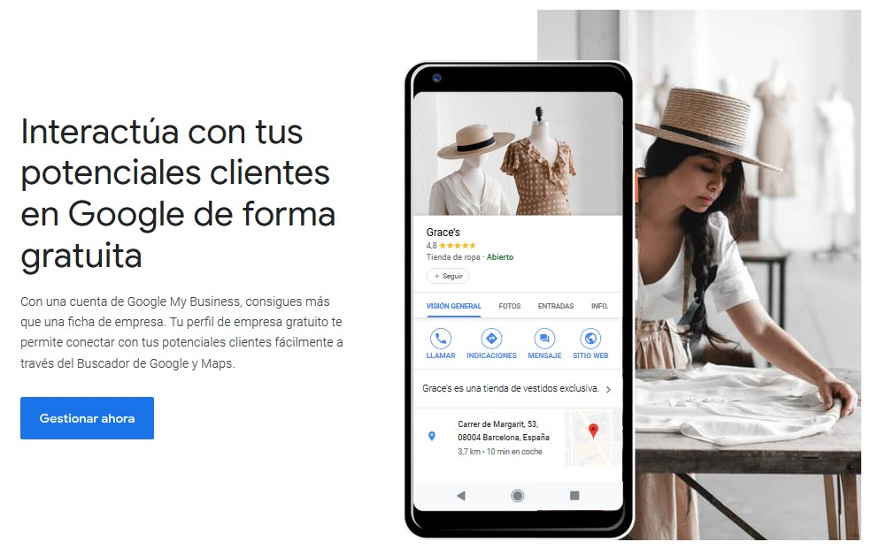 google my business para empresa